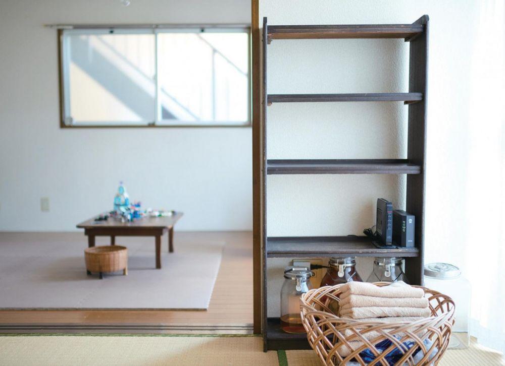 16.6 坪5 口之家,日本主婦的空間利用術