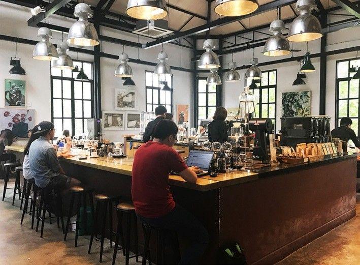 都市中的小秘境!探訪胡志明神秘咖啡小店