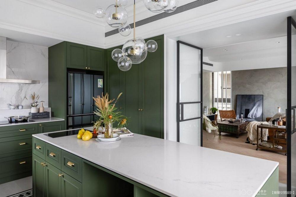 看完這5種開放式廚房設計,立馬改造你家的吧!