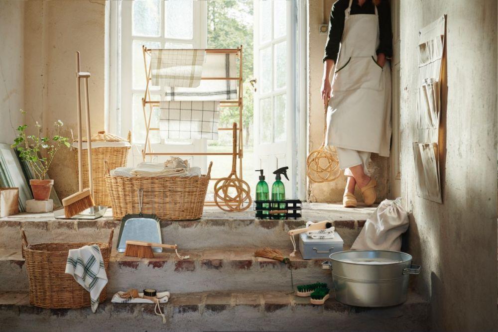 擺著也好看!IKEA推出高顏質掃具迎接春意