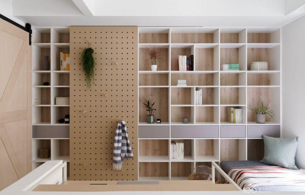 洞洞板設計讓「牆面」收納空間再進化!