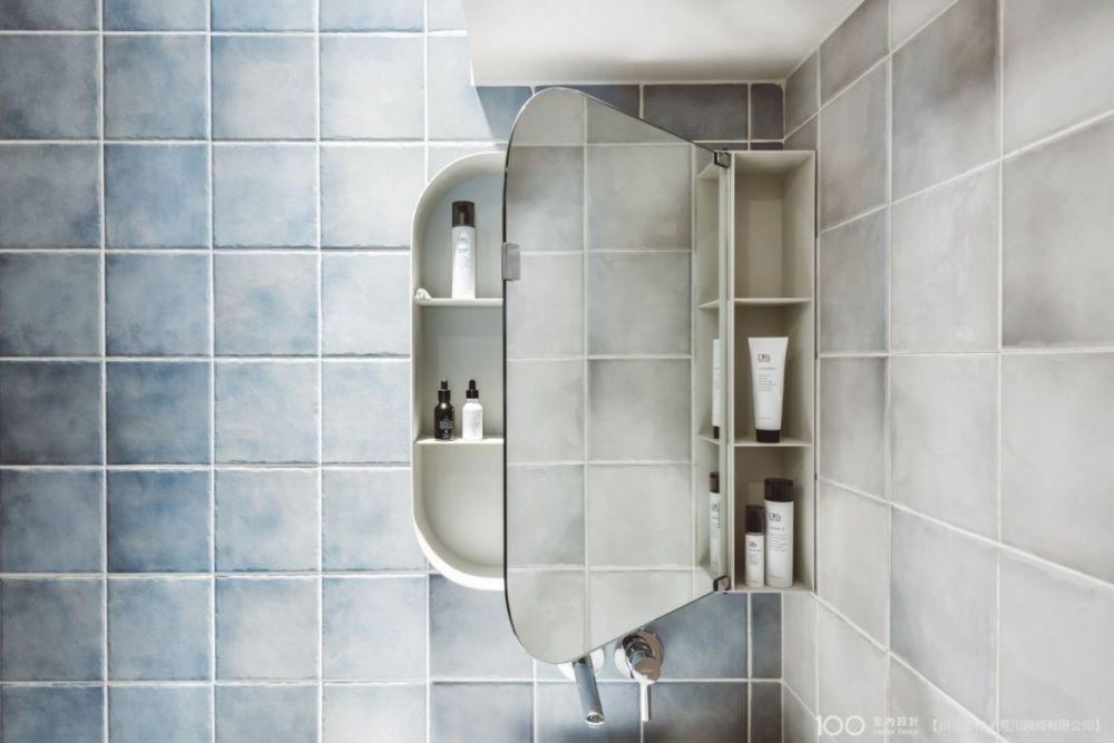 浴室收納牆這樣變化,實用又時尚