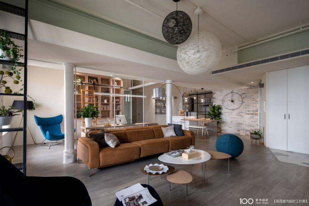 48坪LOFT風質感宅,完美詮釋新家嶄新面貌