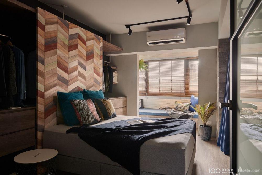 是床頭板也是○○,8款多功能床頭背牆設計