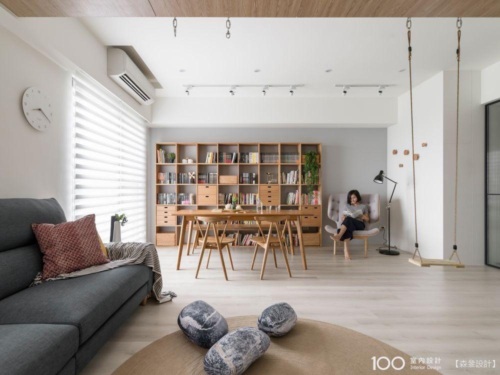 無印系客廳收納,讓生活空間更寬廣