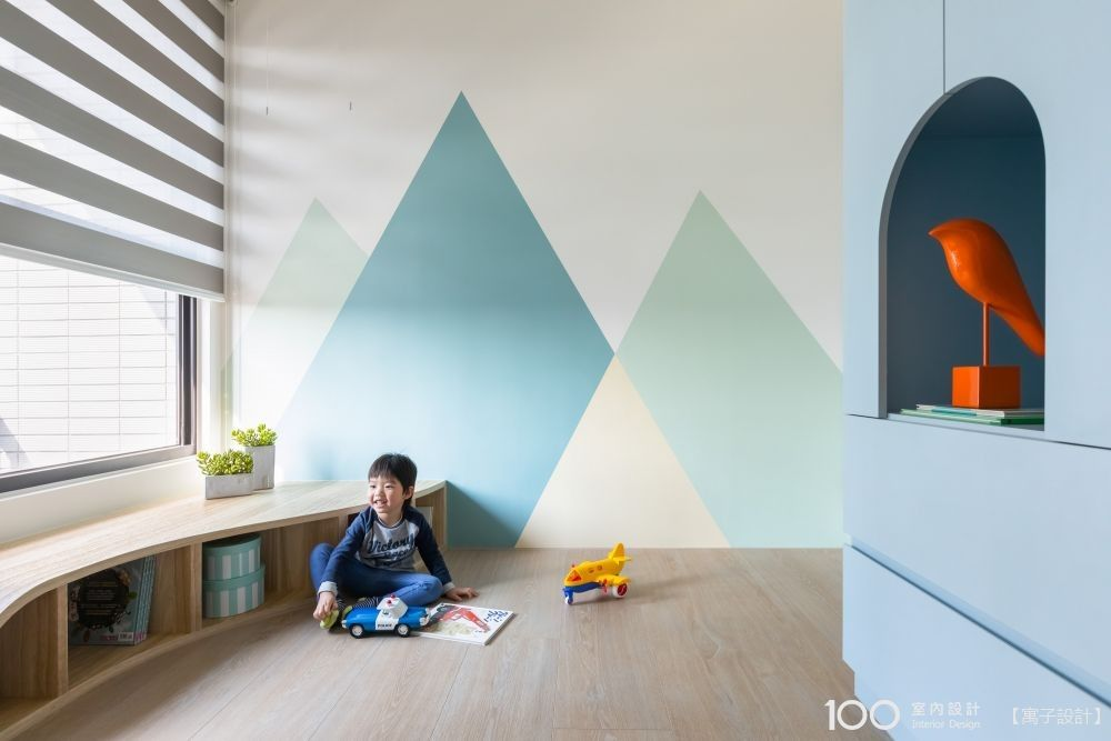 培養美感從小開始,兒童房間顏色這樣配