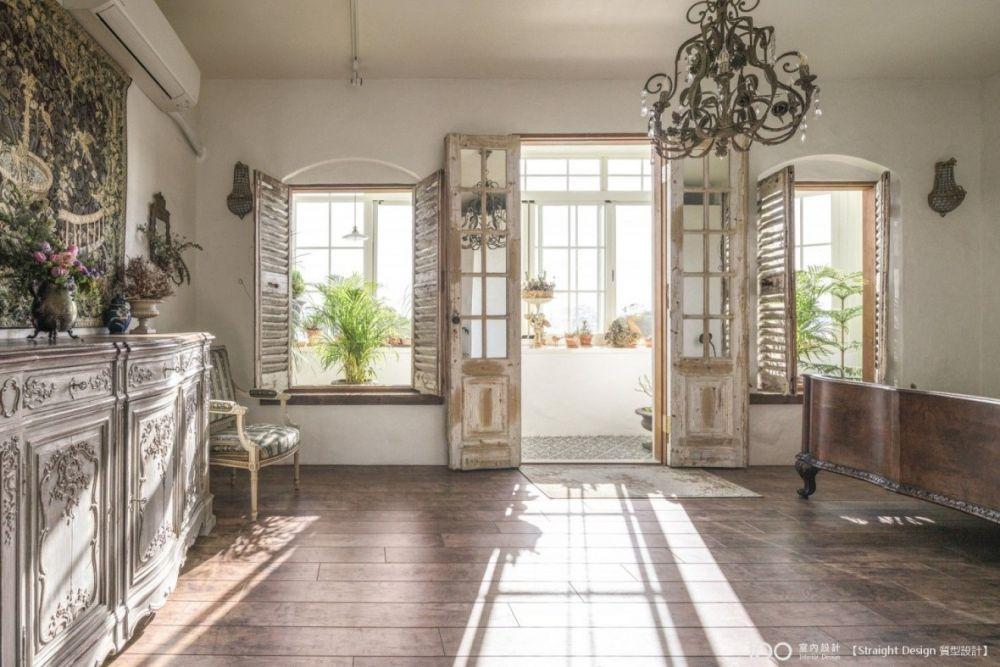 22坪花草系夢幻宅,每天都像住在歐洲莊園!