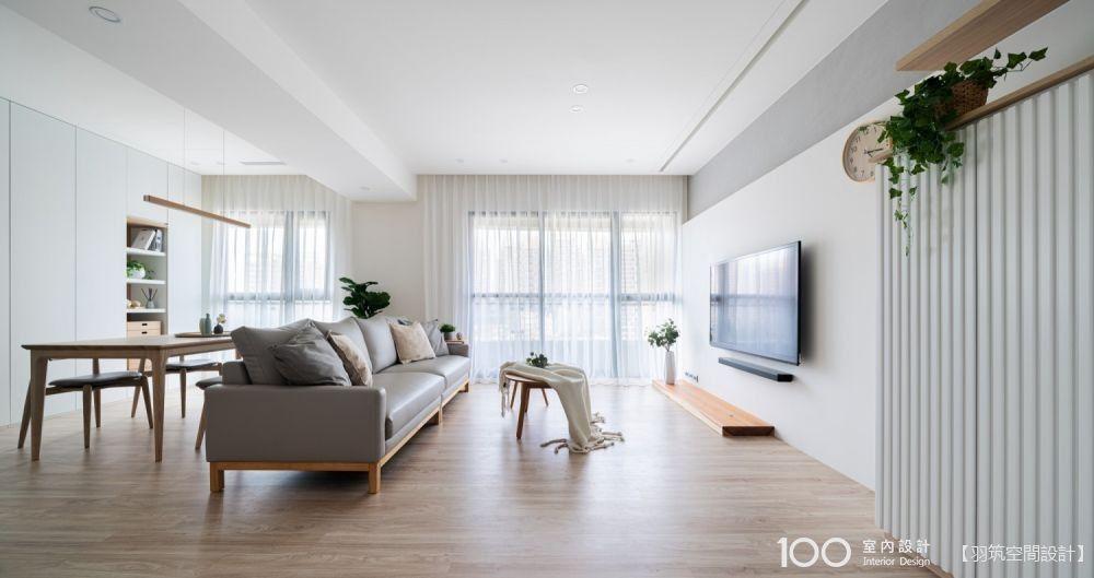 顏色、軟件這樣配,你家客廳也有驚人的放大效果