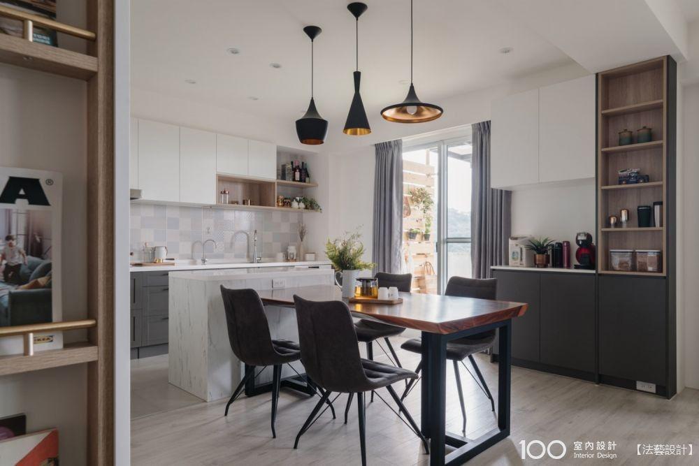 格局x風格,廚房檯面這樣搭最適合你家!