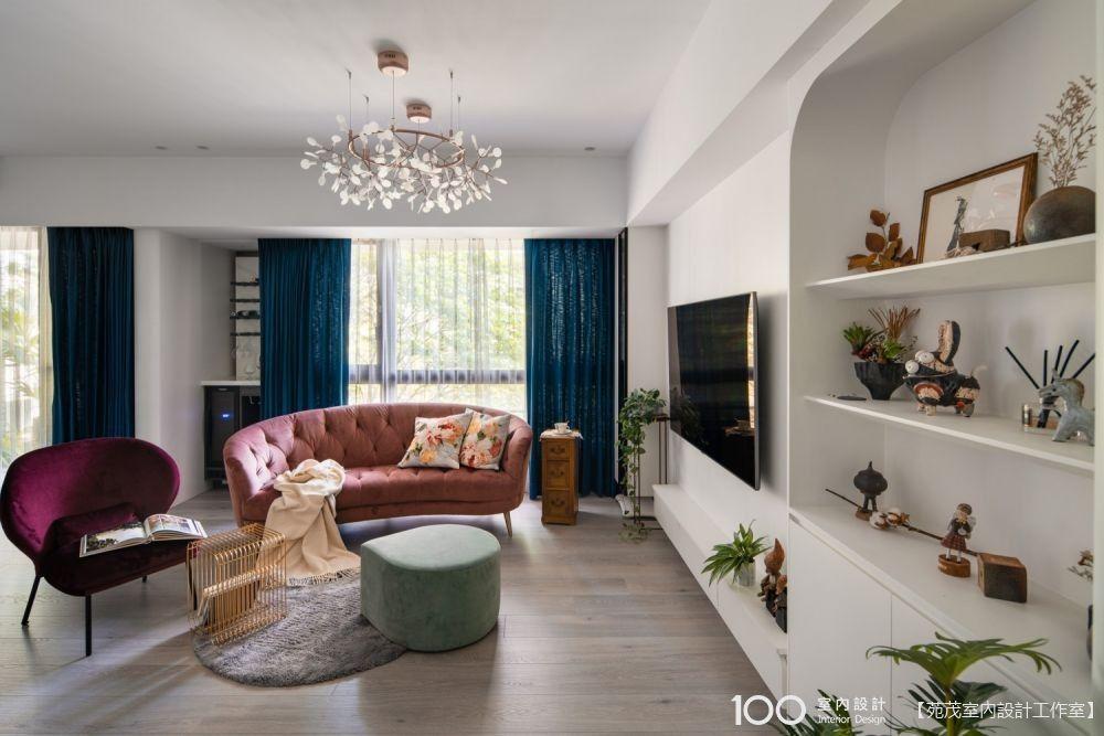 4+1房高顏值愜意收納宅開箱!讓我從一張沙發說起(附家具軟裝清單)