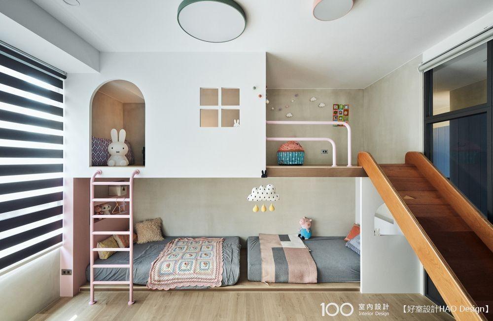 讓孩子自己乖乖入睡!兒童房早該這樣設計