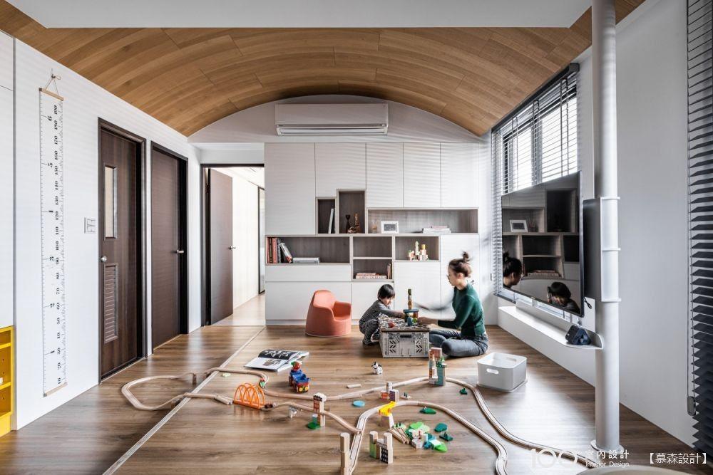 低預算高質感,用系統櫃打造專屬風格客廳