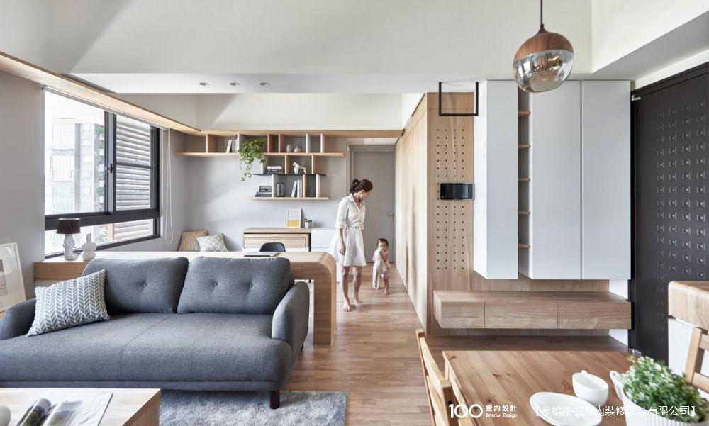 第一次省錢買房裝潢就上手,25坪寬廣海景房一睜眼就幸福