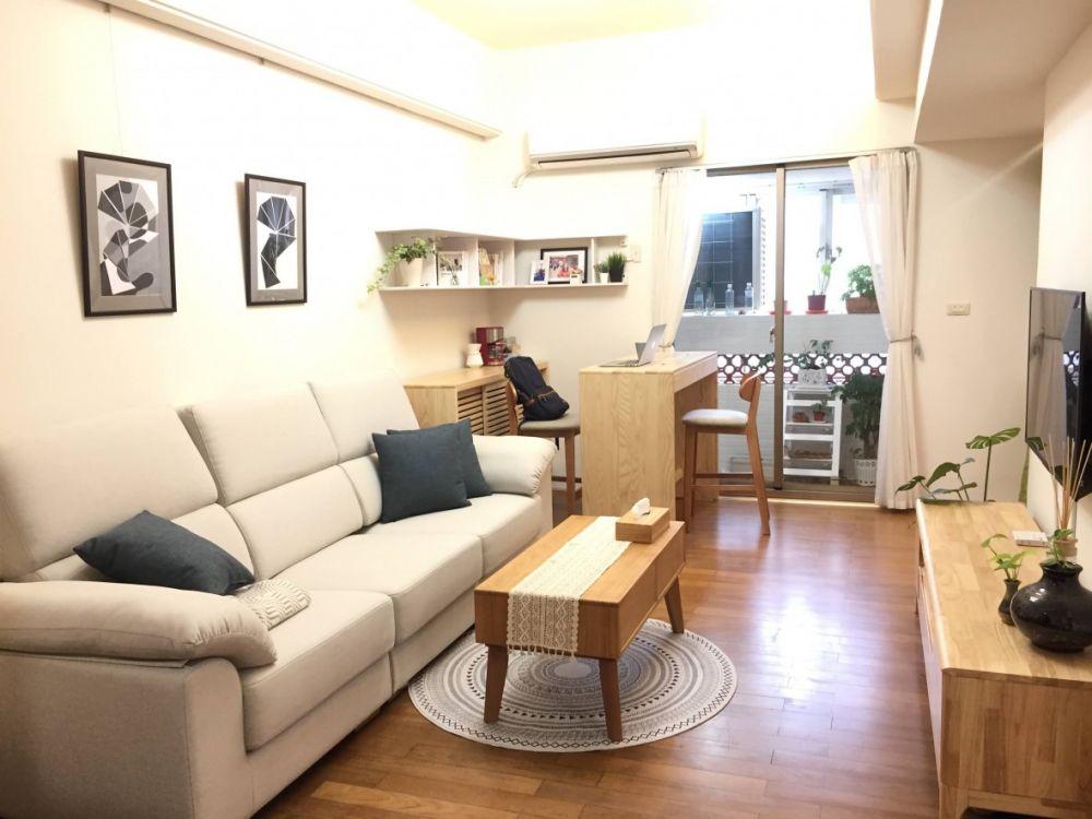 預算不夠沒關係!純傢俱也能擁有北歐+日式木質宅