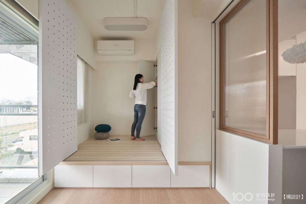 複合式櫃體設計,小宅裝潢也能擁有意想不到的收納機能