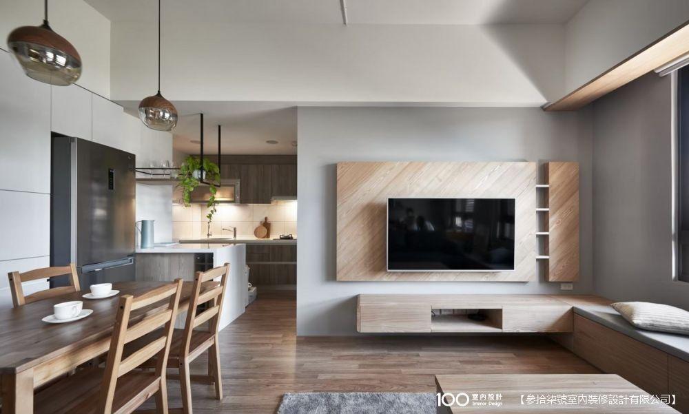 客餐廳一體化設計,做對了舒適不擁擠!