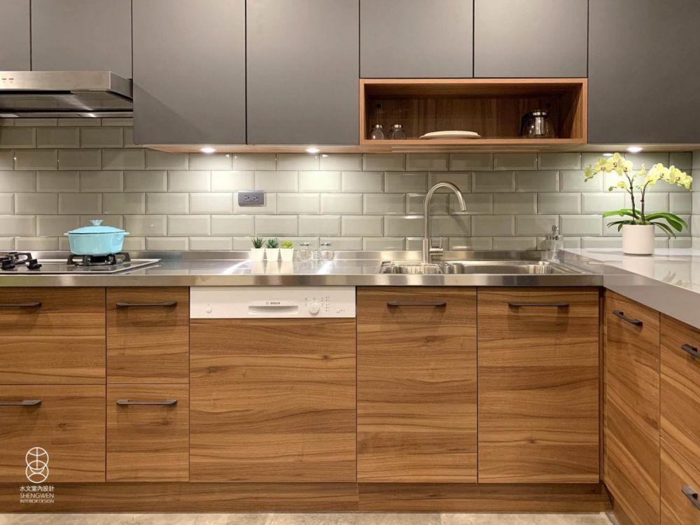 15年老舊廚房改造實例,開箱我家的夢想廚房