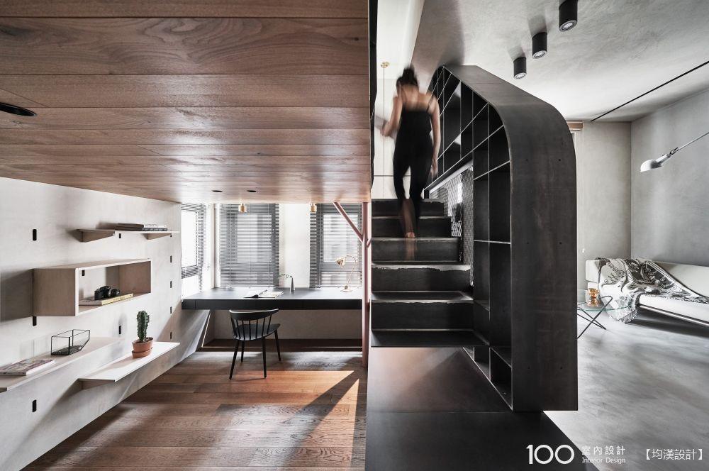 不想坪數被吃掉,夾層樓梯實用設計秘訣