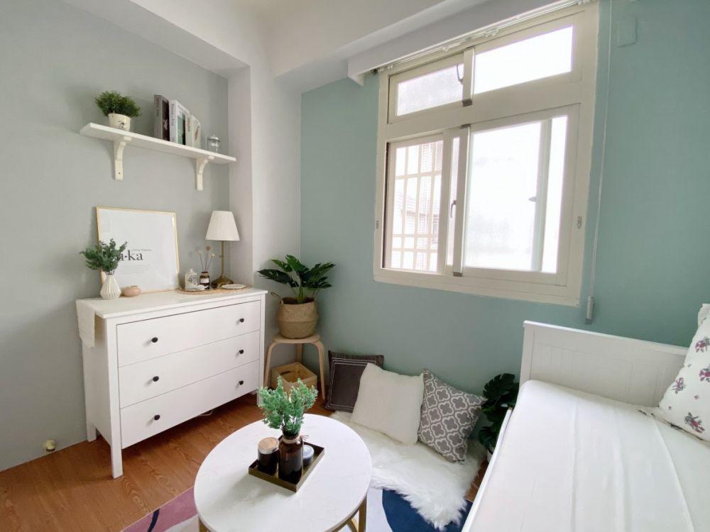2坪小房間布置diy,用IKEA&淘寶家飾來改造(文內附採買清單)