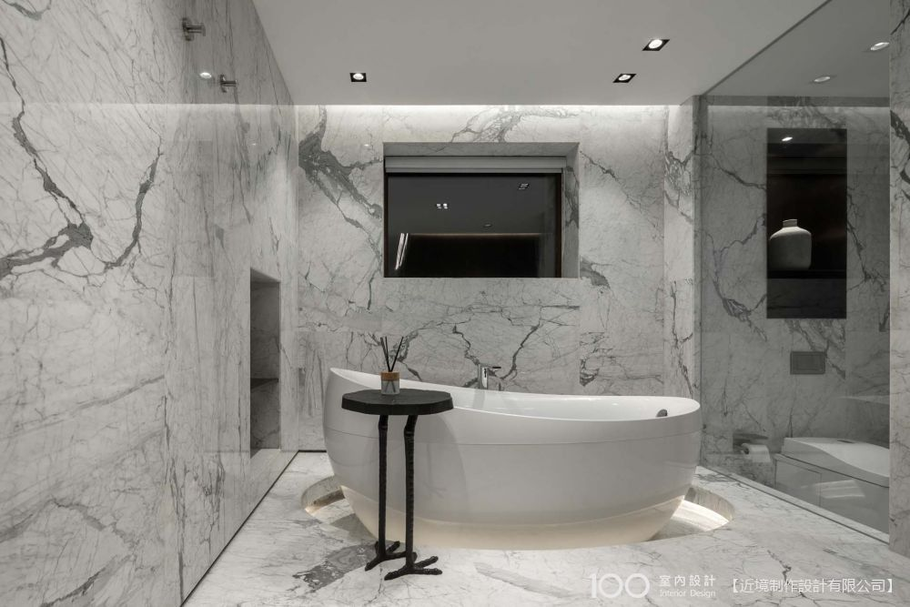 搞定泡澡動線,五星級的乾爽浴廁不是夢!