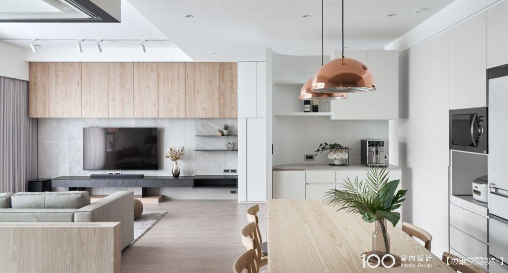 不要華麗裝潢,只用木與白打造27坪極簡新婚宅