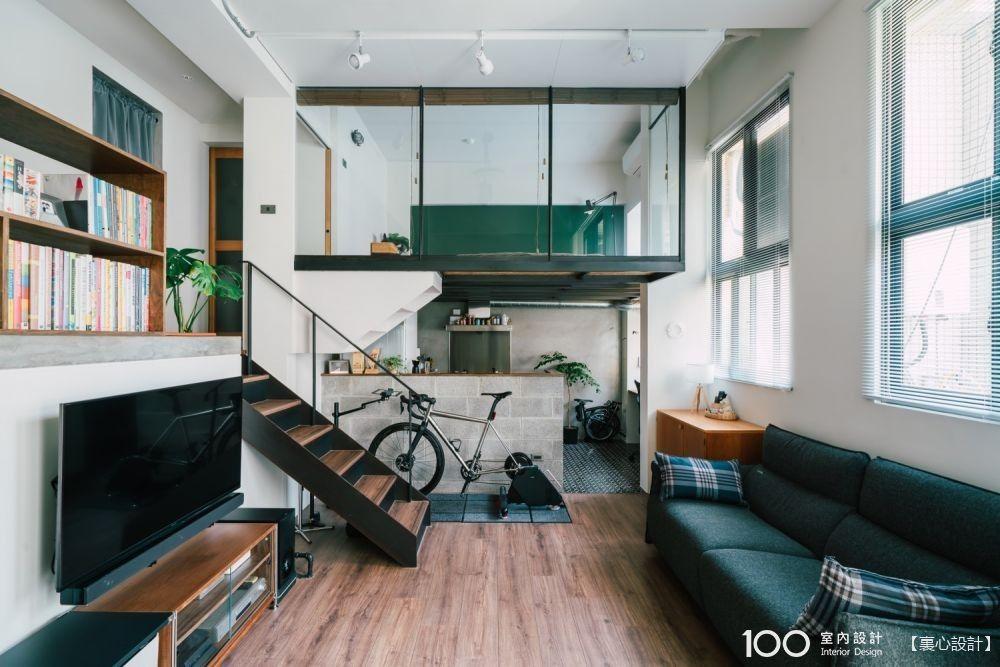 複層小宅的餐廚怎麼裝潢最省空間?這5招學起來