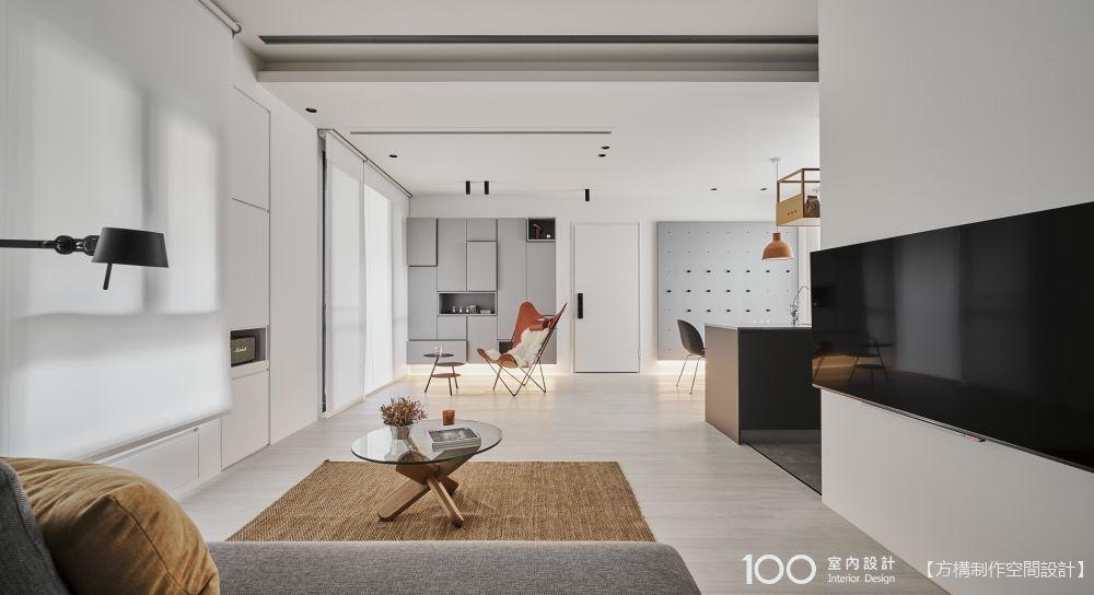 23坪也能打造超寬敞客餐廚+海量收納!我的現代簡約宅開箱