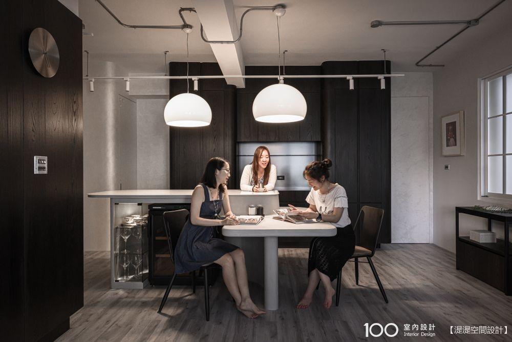 中島再延伸,超絕妙的餐桌設計一次看!