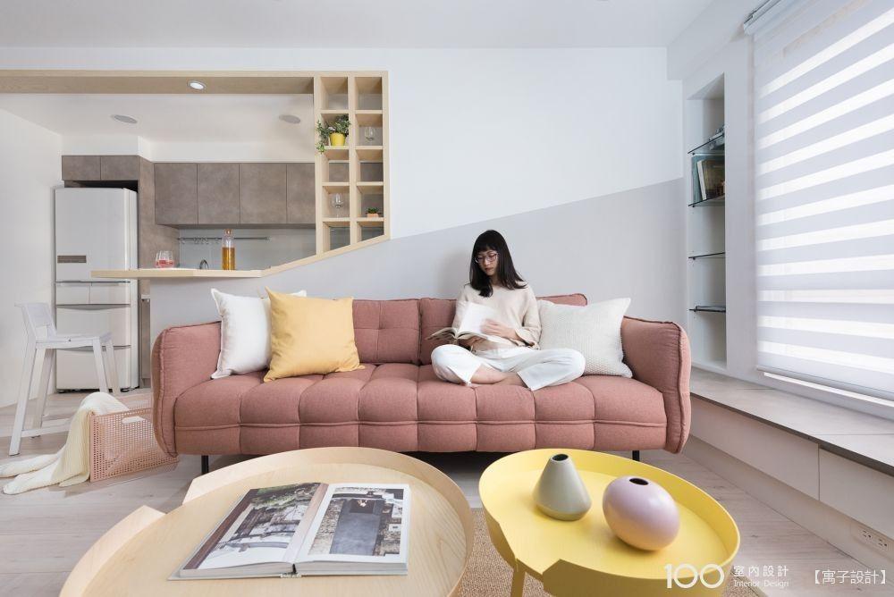 客廳布局6巧思,讓空間感、美感都升級