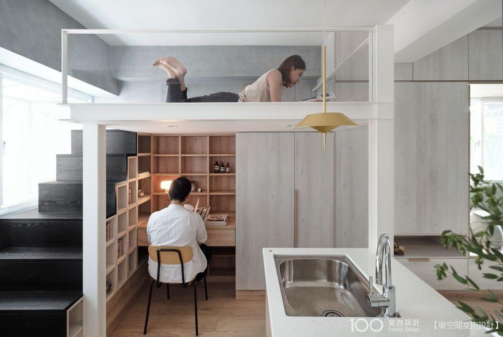 書房空間這樣規劃,家再小都能擁有!