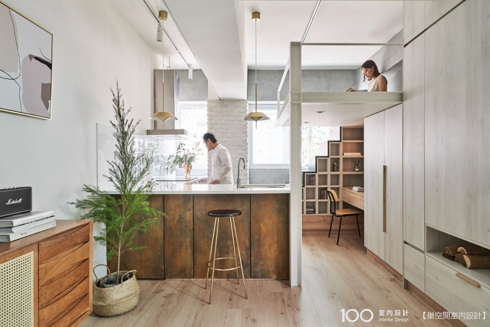 【TOP5】搞定收納、放大坪效,夾層小宅的極致運用!