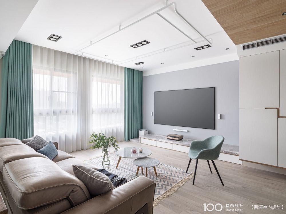 客廳大小不重要,電視櫃、茶几、沙發尺寸抓對才是關鍵!
