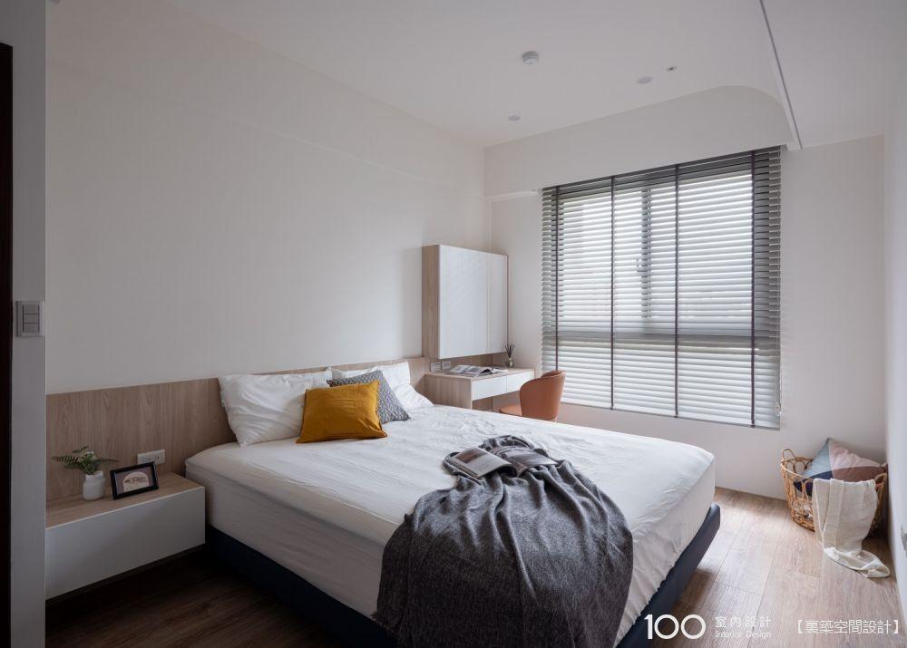 雙人床尺寸抓對,房間再小都不擠!