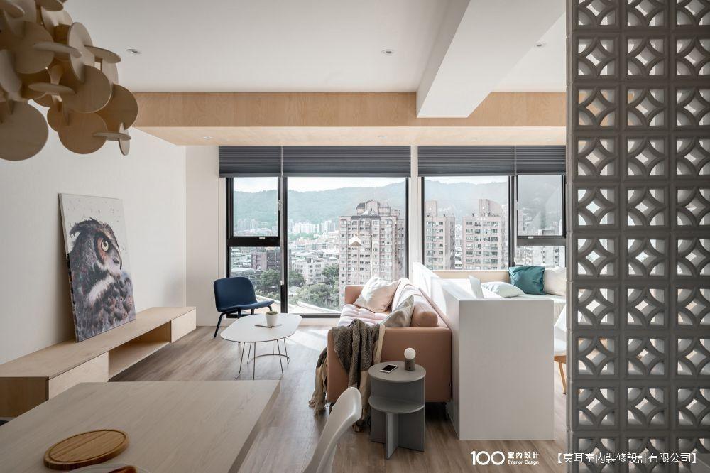 家的輕隔間裝潢,26坪也能有超寬闊空間感