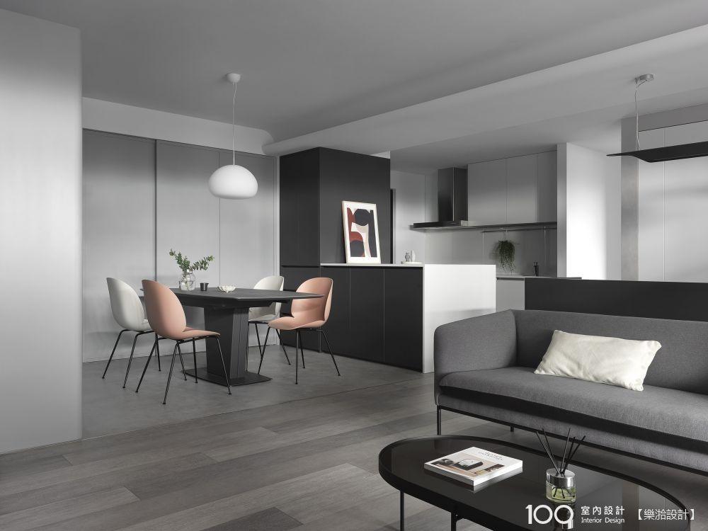 33坪簡約現代宅,灰色控一定會喜歡的家