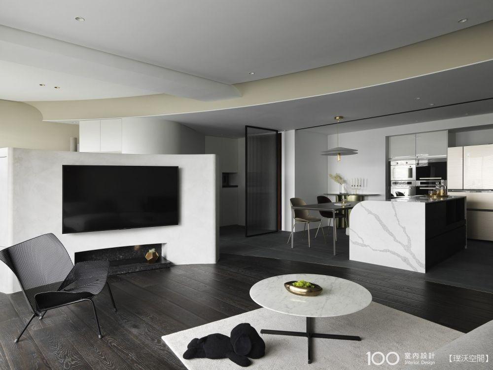 半高電視牆這樣規劃,空間感大一倍