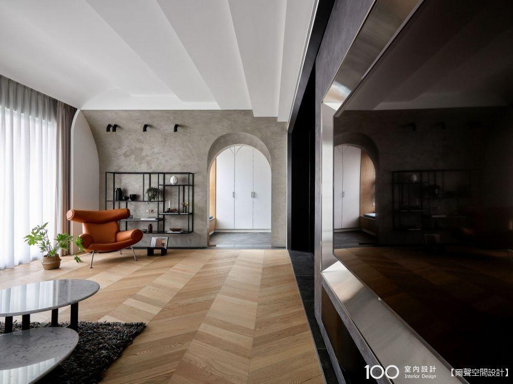 雙面電視牆好驚人!超乎想像的精品小豪宅