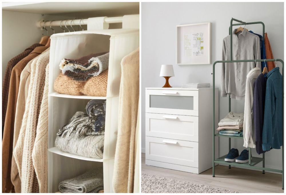 衣櫃塞爆難整理?網友盛讚:有這個IKEA神物就搞定