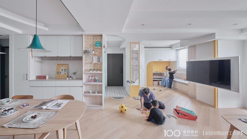 5種開放式互享格局,讓客廳不只是客廳