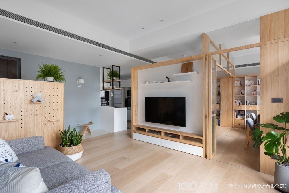 雙面櫃的超萬用裝潢,讓你家空間秒增兩倍