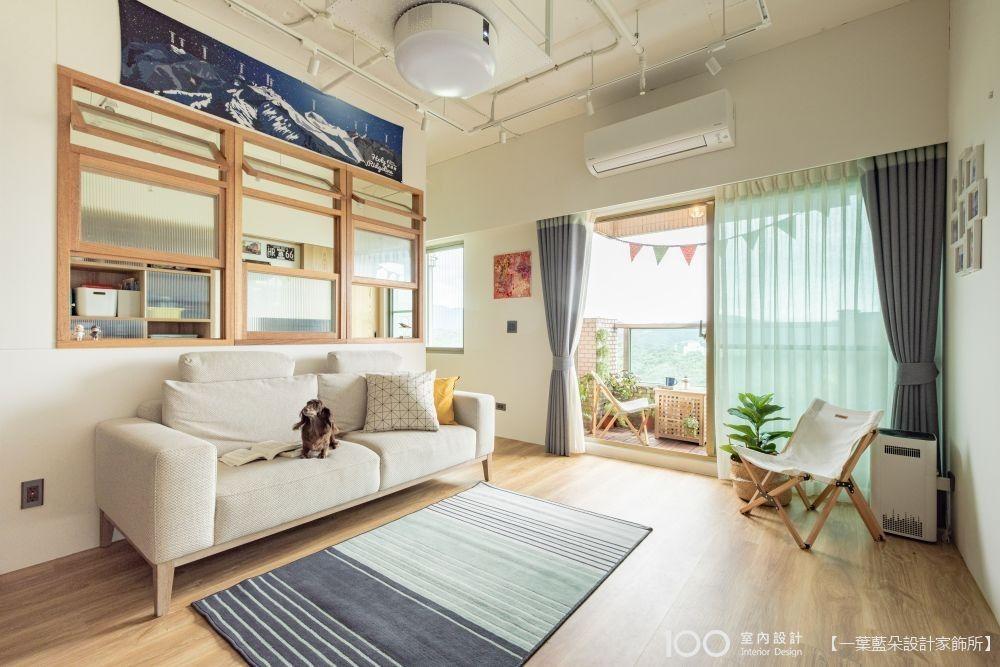 【山中の小抹茶】33坪日雜風住宅,日式木框窗開啟明亮生活