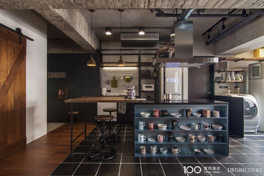 中島結合功能櫃,廚房機能激升一倍!