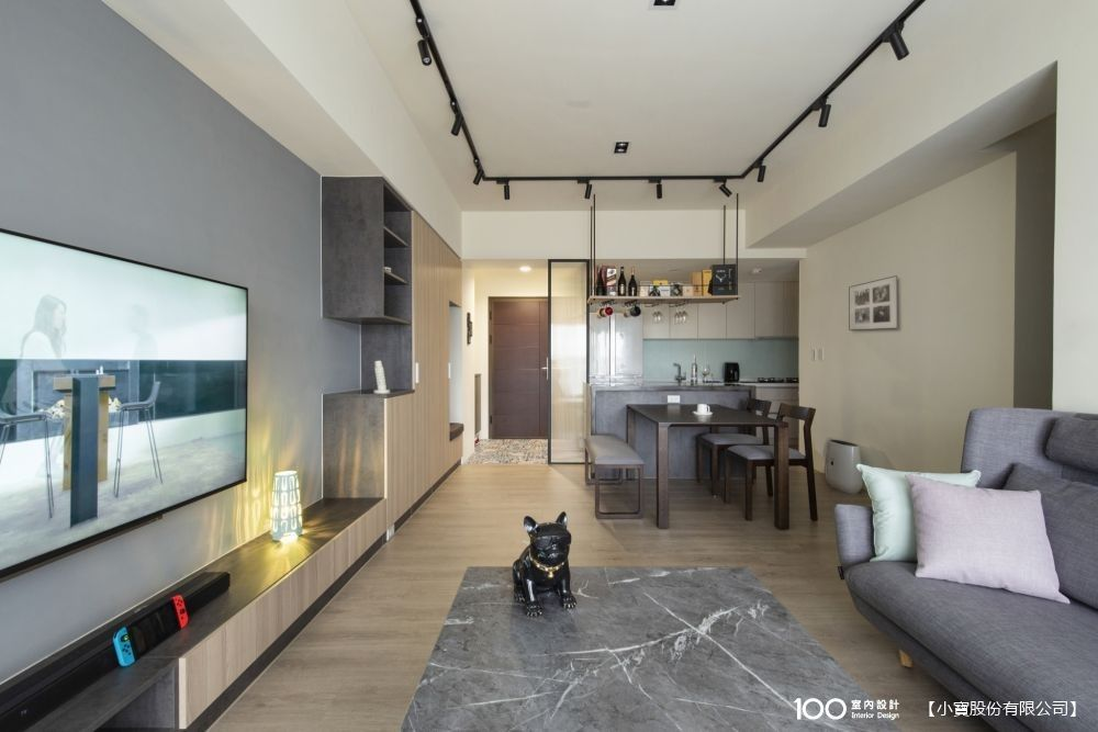 將北歐風與PUB夜生活風格完美融合,打造高CP值的27坪混搭宅