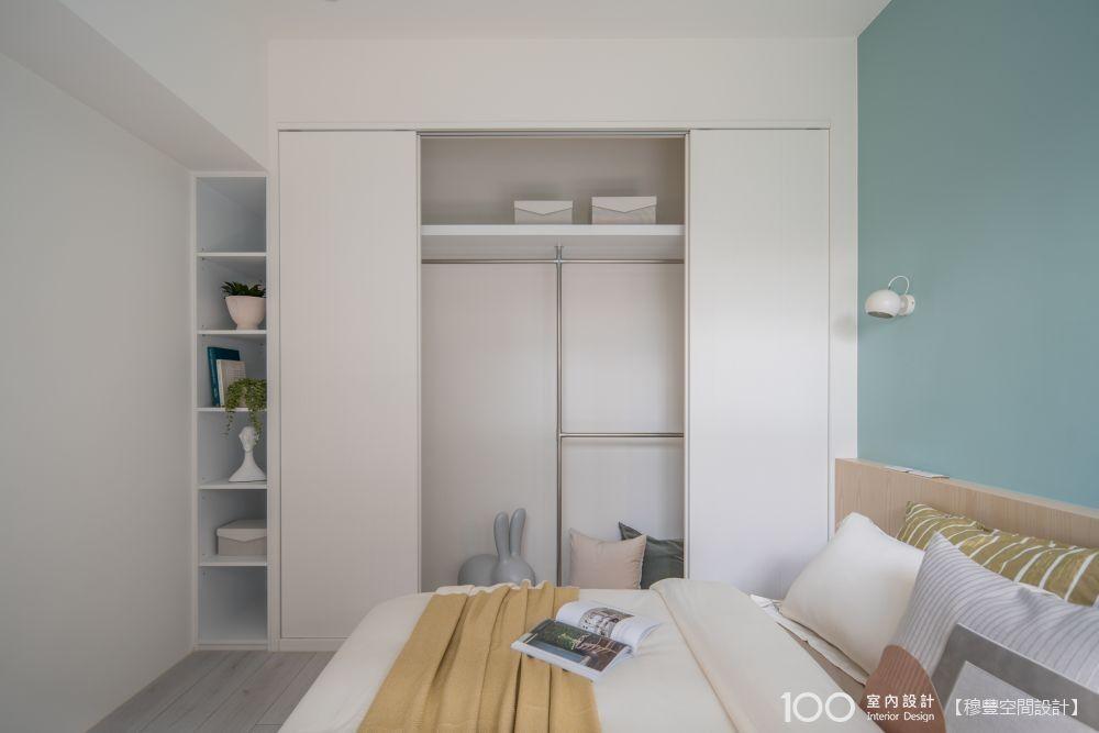 選對衣櫃門片,房間看起來多2坪!