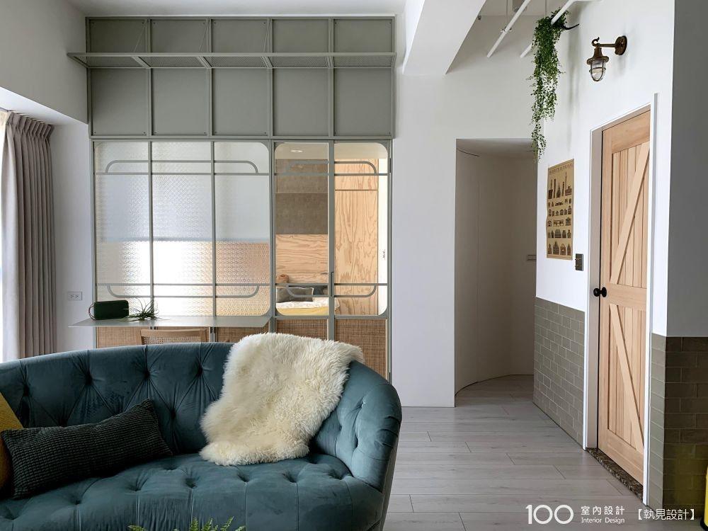 採光通透、收納滿分,20坪復古小宅也有超高機能!