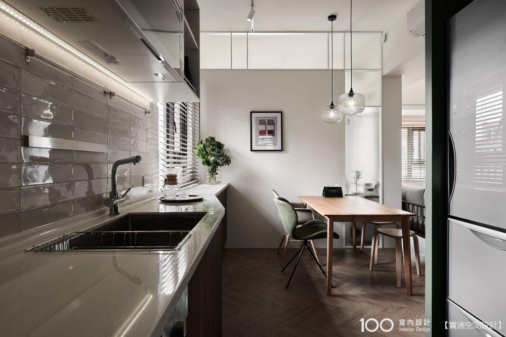 簡易型「備餐檯/備餐櫃」,小廚房也能大應用