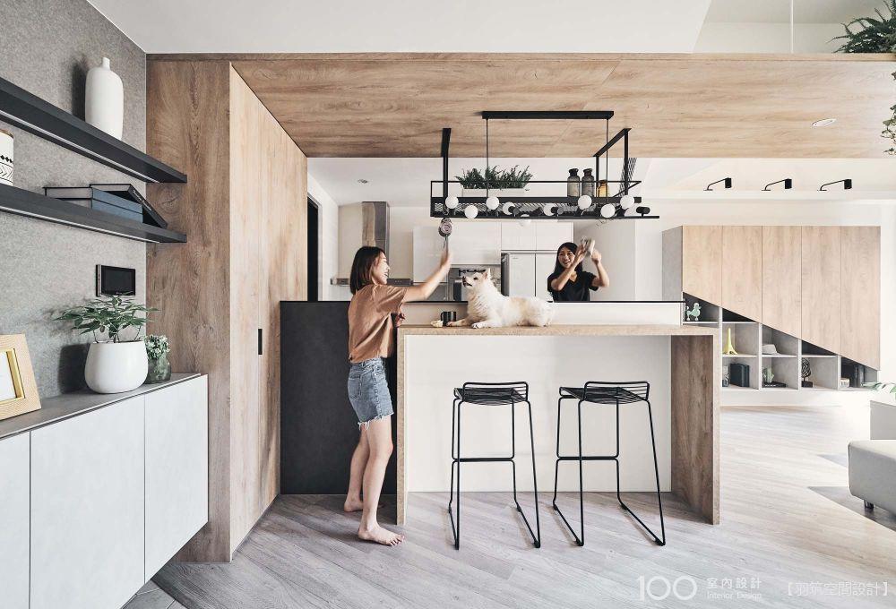 複合式小中島,簡單完成居家自煮管理