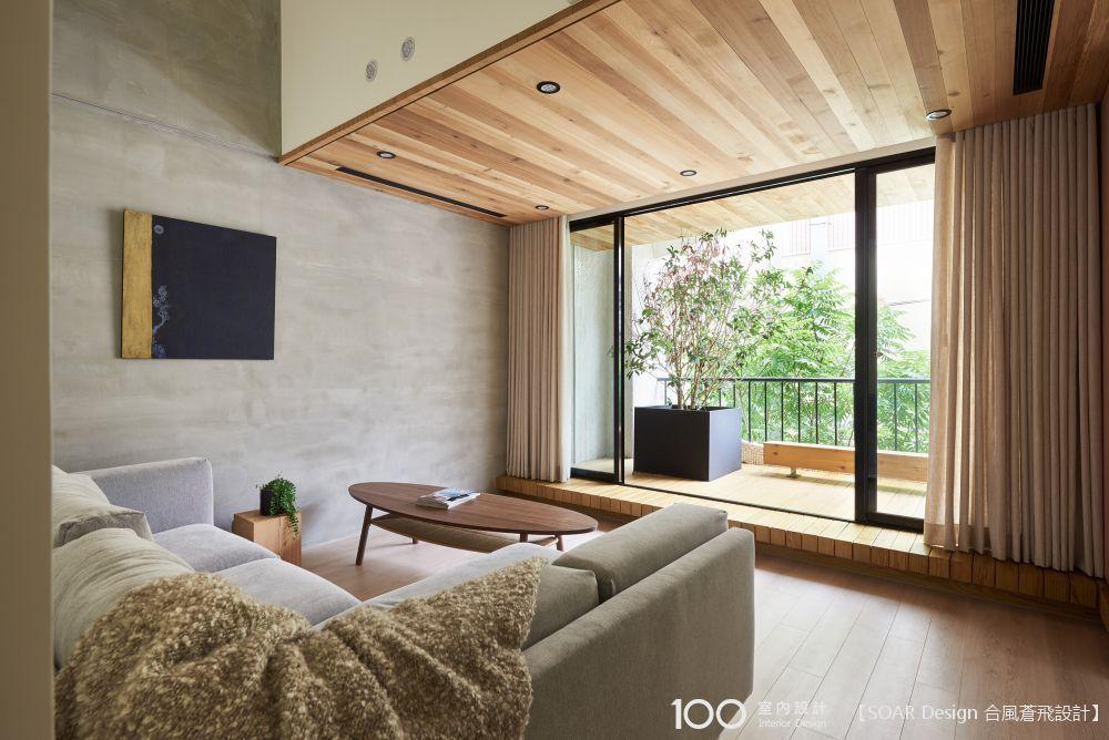 換個陽台木棧板,在家也能透透氣