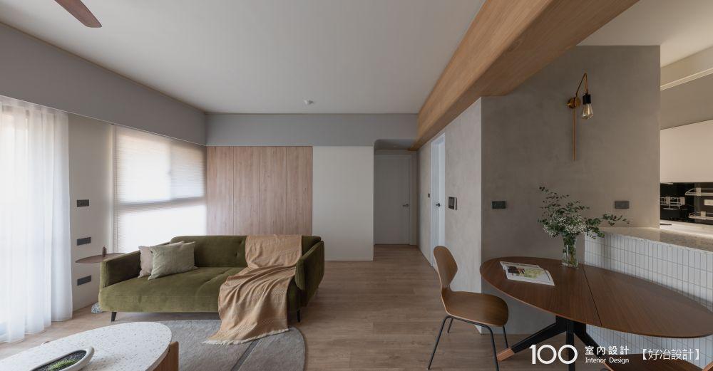 櫃體靠牆,我家更寬敞!25坪木質宅溫馨開箱(附家具採購清單)