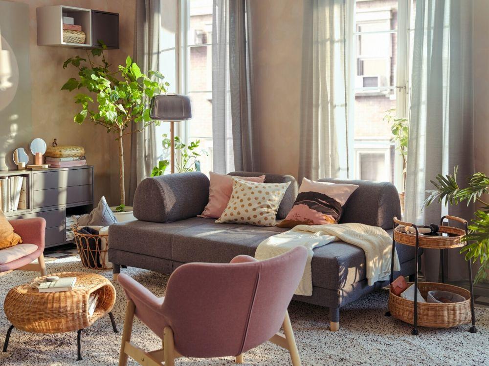 【家具清單】小宅必備IKEA沙發推薦,複合機能讓空間一坪變三坪!